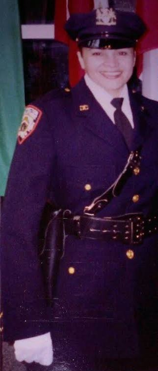 - This photo was taken the day Sandra Rodriguez was recognized as the first female Company Commander in the history of NYC Correction Department in 1984. PHOTO BY SANDRA RODRIGUEZ