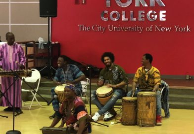African Dancing Group Performs for Disability Awareness Event at York College